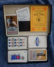Cards game Mah Jong, Western Electric company, 1924 British Empire Exhibition.